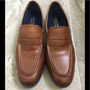 Cole Haan Grand OS Brown Mens Dress Shoes Size 7
